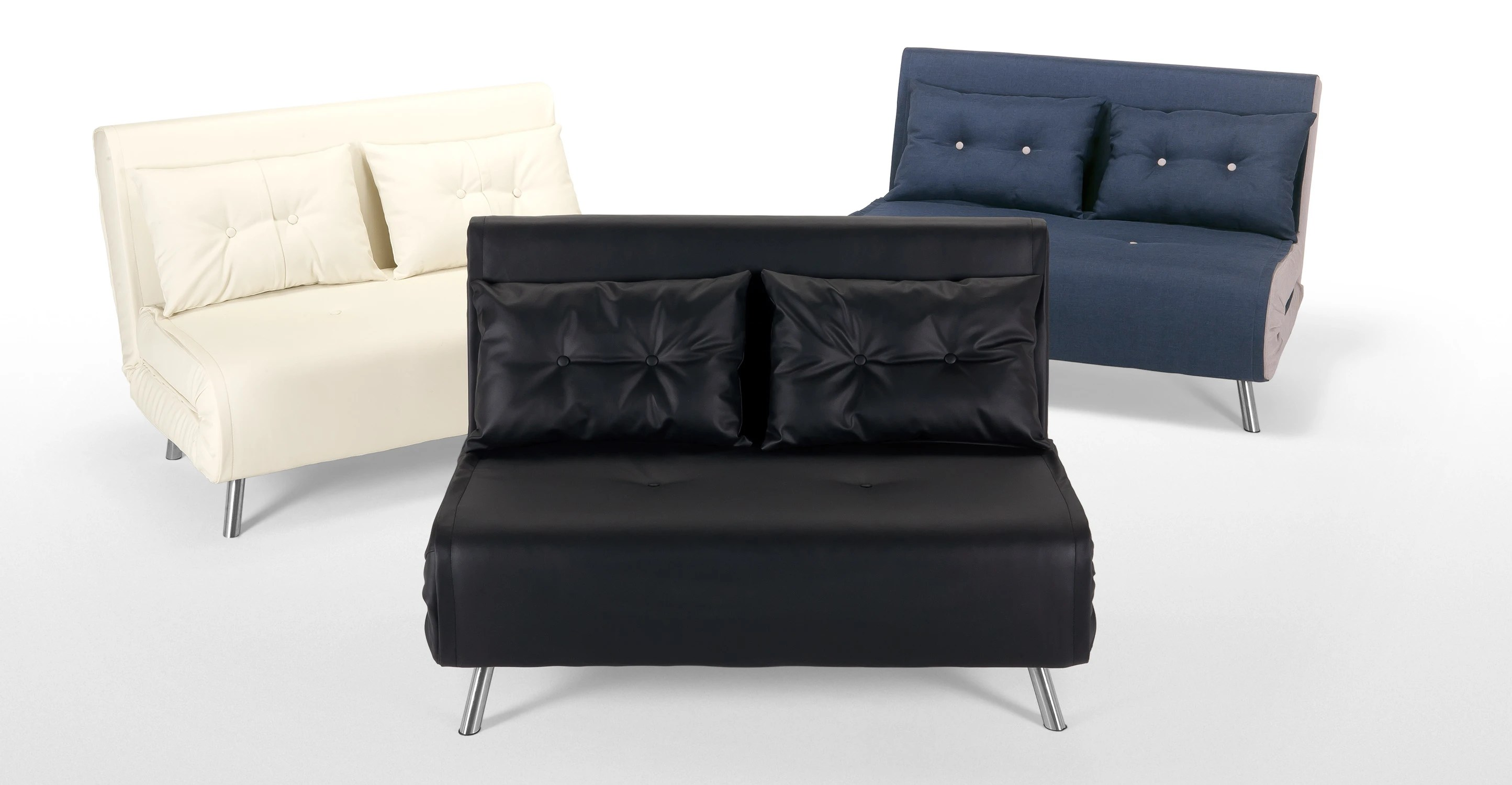 black small sofa sectional with recliners haru bed made