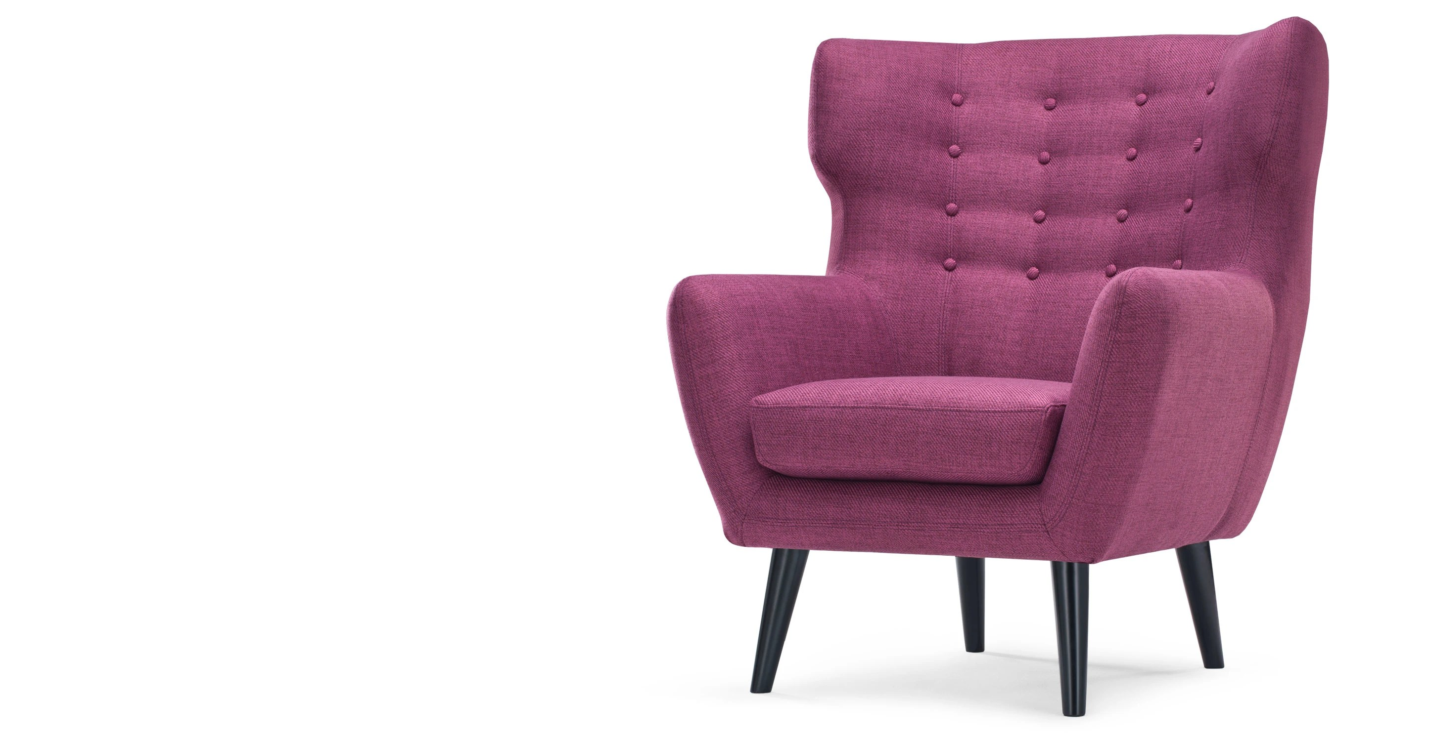 purple high chair bean bag at aldi kubrick wing back in plum made