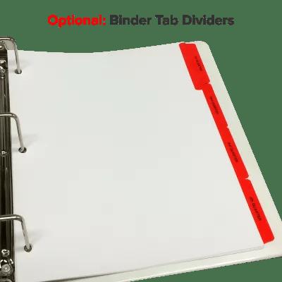 ADP Stock Binder  FormCenter