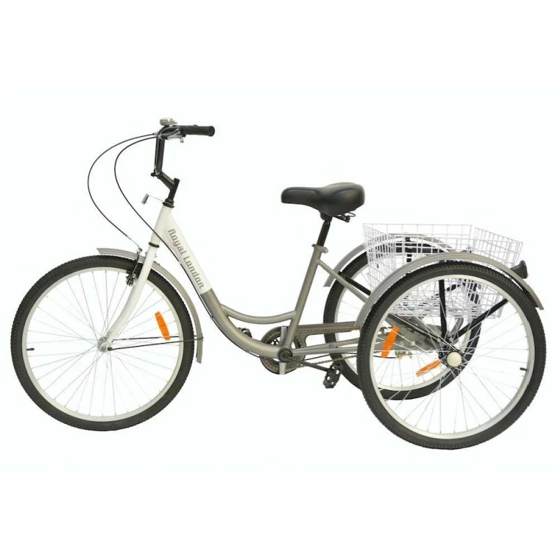 Royal London Adult Tricycle 3 Wheeled Trike Bicycle with