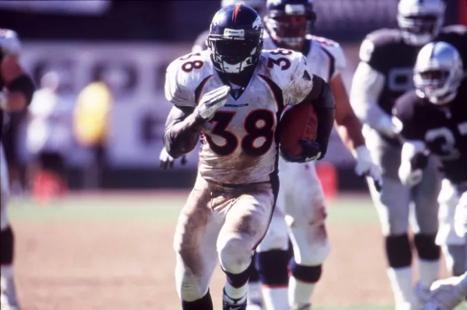 2000: Mike Anderson, Broncos