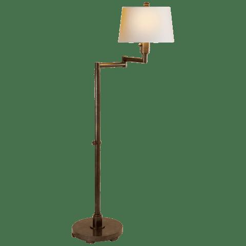 chunky swing arm floor lamp