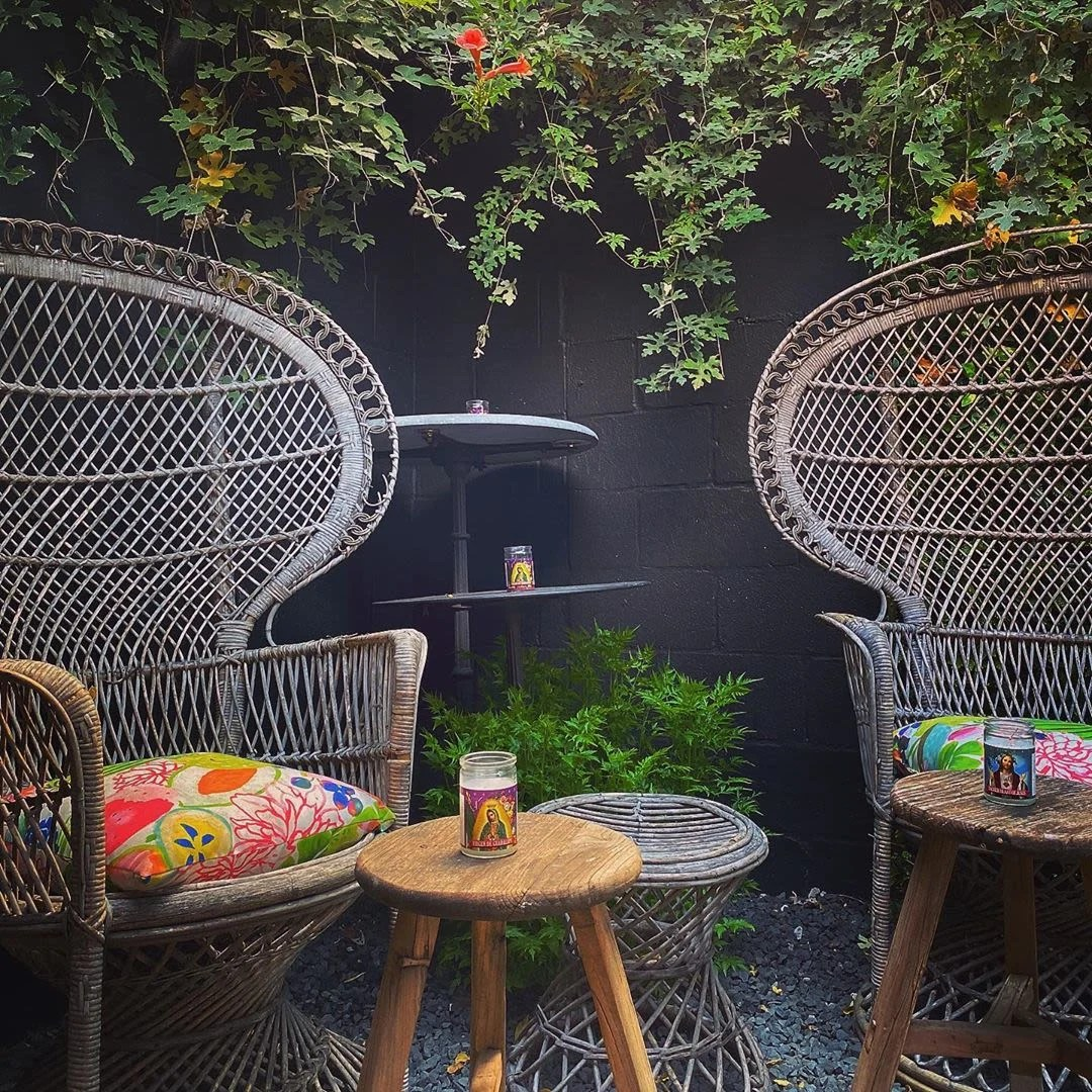 stay warm on these heated patios