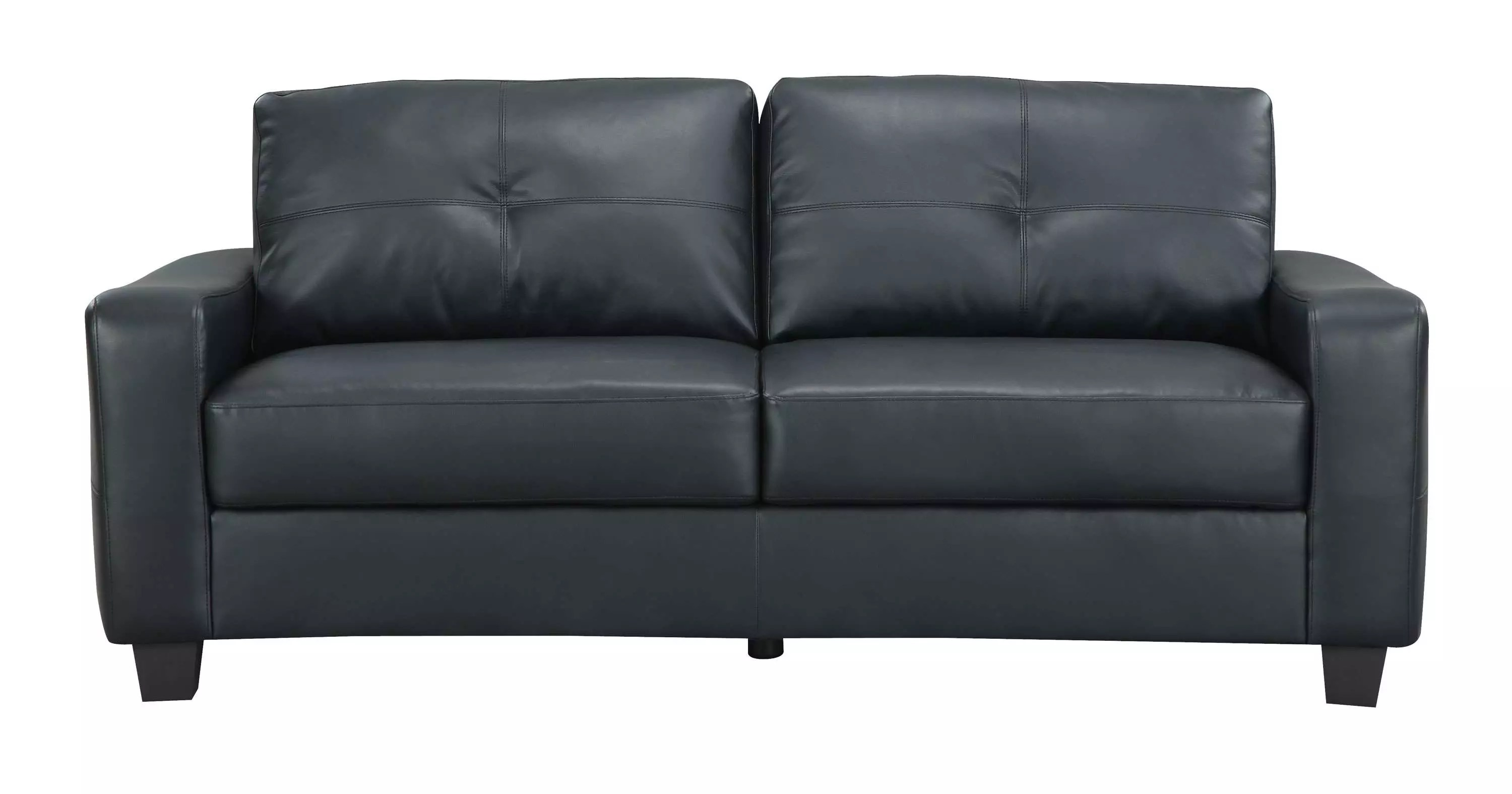 coaster leather sofa reviews andre arbus jasmine black and goedekers