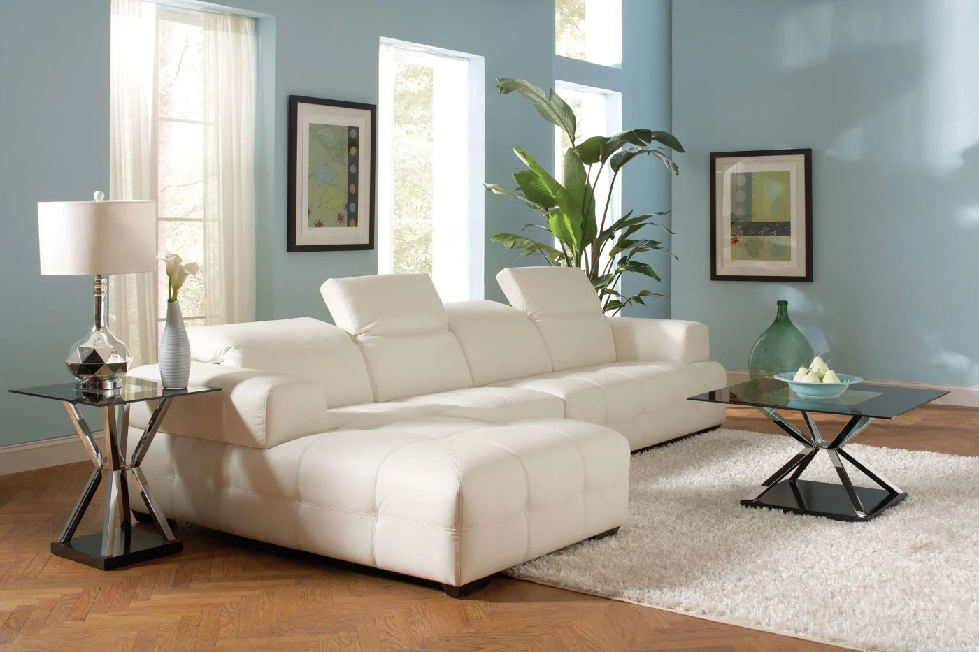 coaster bachman sofa reviews circular sofas white sectional and goedekers