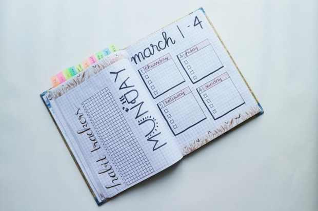 March BuJo