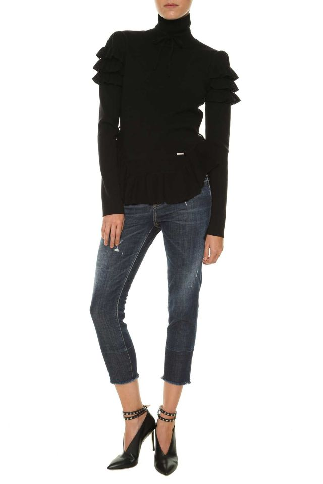 Dsquared2 Sweater With Frills, $519.89