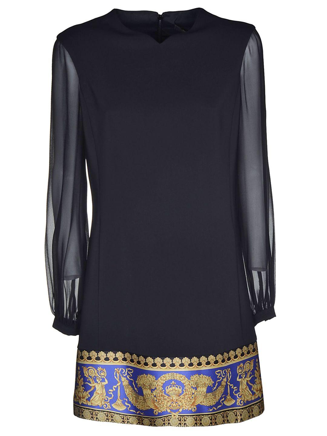 Versace Signature Pillow Talk Hem Dress – Italist –  1,088.31 08718f1a9e