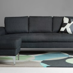 Sofa Seat Height 60cm American Furniture Bed Vittorio 3 Seater In Anthracite Grey | Made.com