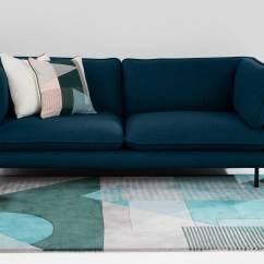 Best Sofas On The High Street Small Recliner Corner Sofa Wes 3 Seater Petrol Teal Made