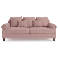 pink sofas leather sofa cleaning cost cool couches brosa mila 3 seater
