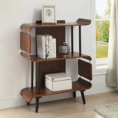 Walnut Furniture Living Room Best Colors For Walls Wooden Store Vienna Short Bookcase