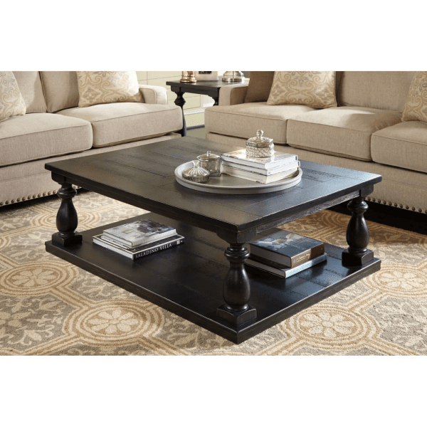 Tellbane Coffee Table.Ashley Rectangular Cocktail Table Black Year Of Clean Water