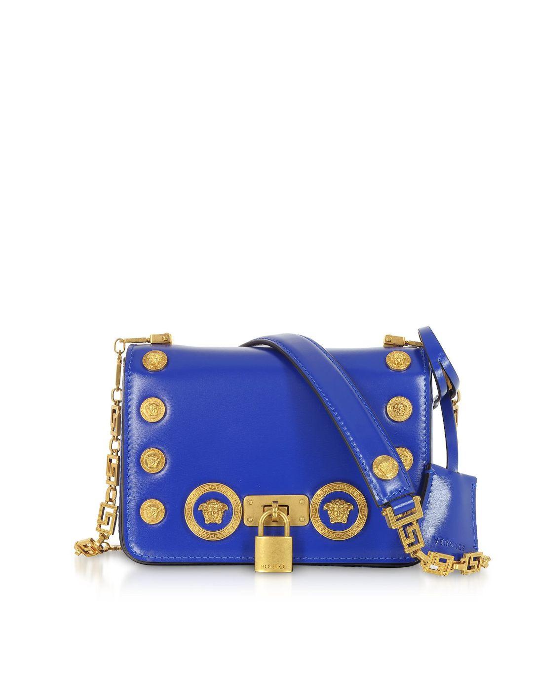 7c755f8e9e4c Versace Small Icon Leather Shoulder Bag – Italist –  1