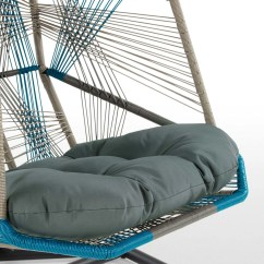 Cool Hanging Chairs Cane Seat Dining Copa Chair Blue Made