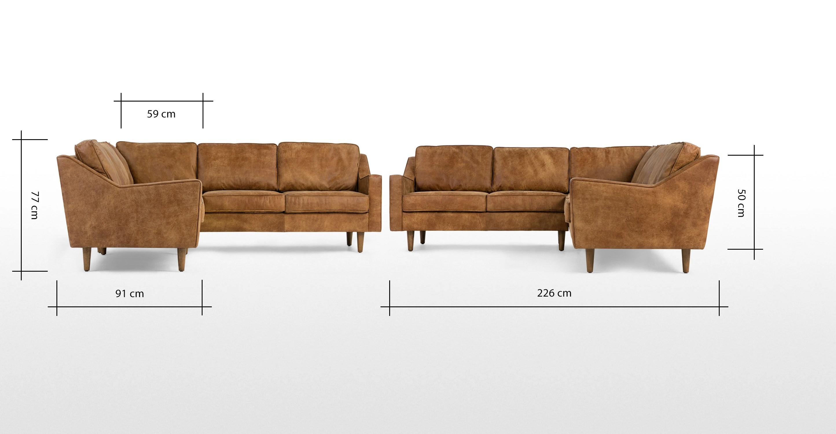 well full leather beige sofa set ottoman lane recliners reviews dallas corner outback tan premium made