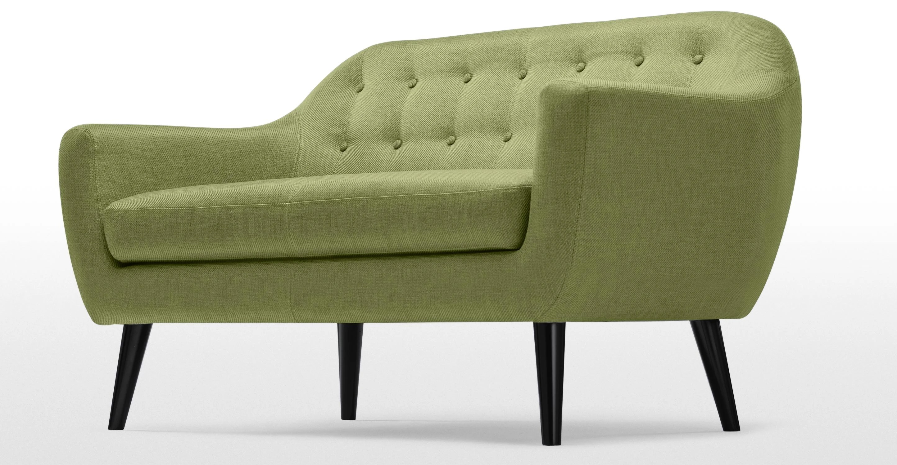 lime sofa uk tempur bed ritchie 2 seater in green made