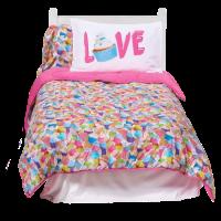 Cupcakes XL Twin Comforter   Iscream