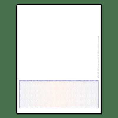 Premium Prismatic Blank MICR Checks  FormCenter