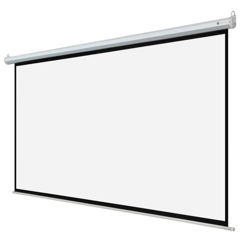 """OPEN BOX Homegear 110"""" HD Motorized 16:9 Projector Screen"""