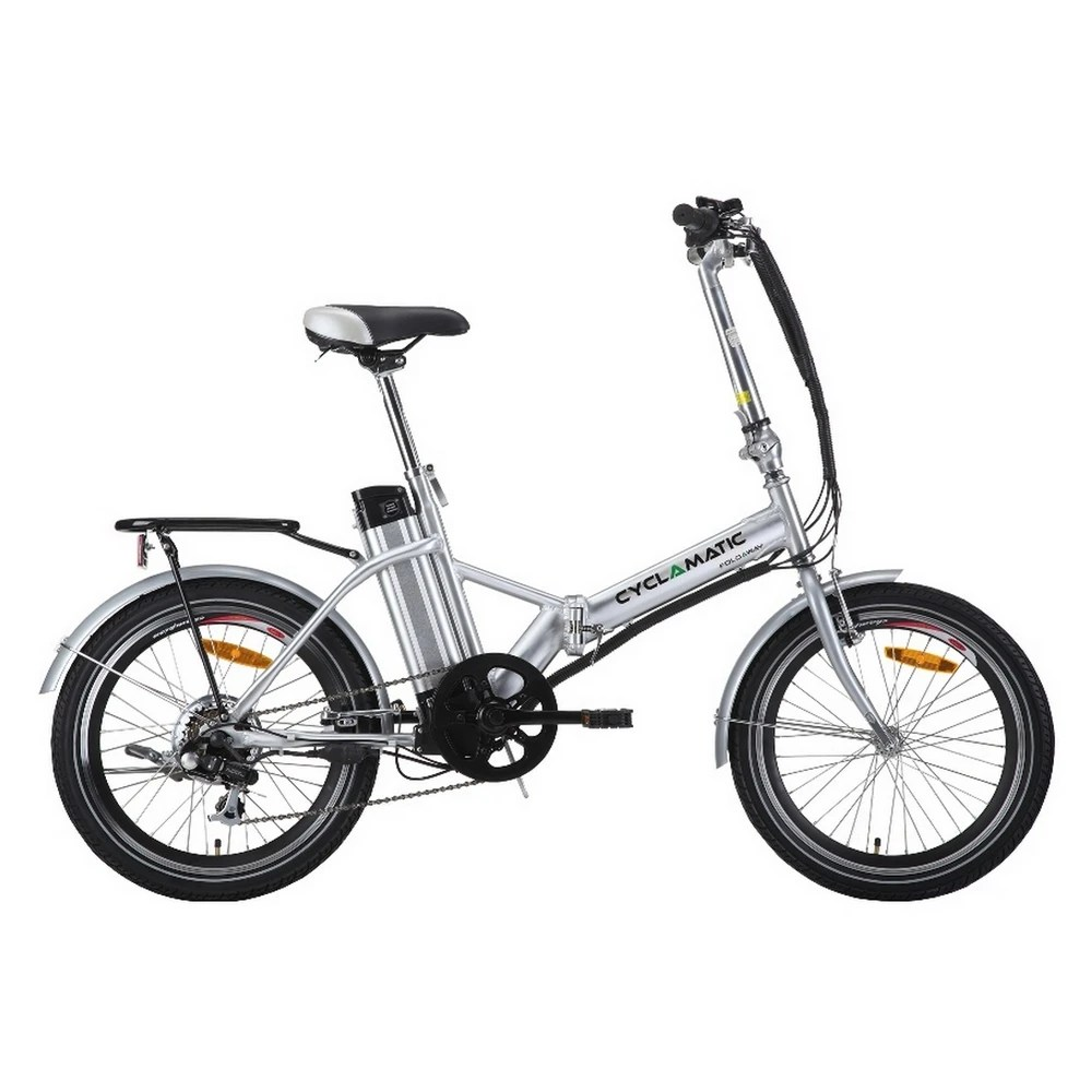 OPEN BOX Cyclamatic Foldaway Electric Bike just $559.99