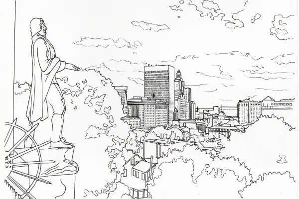 Providence National Coloring Book Day Challenge