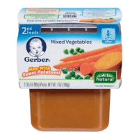 Gerber Baby Food Mixed Vegetable Stage 2