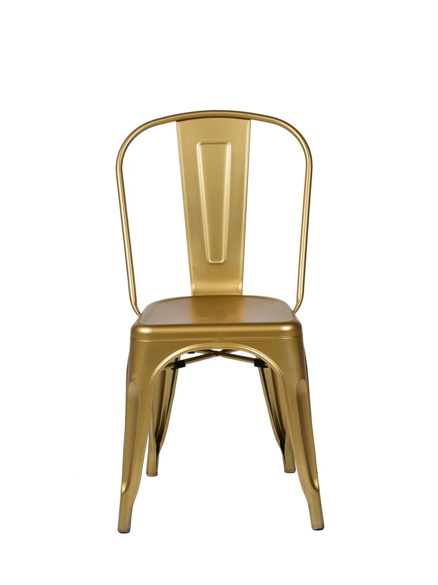 steel chair gold childs plastic table and chairs commercial seating products oscar tolix style stackable dining