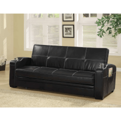 Coaster Bachman Sofa Reviews Seat Height 22 Inches Black Bed And Goedekers