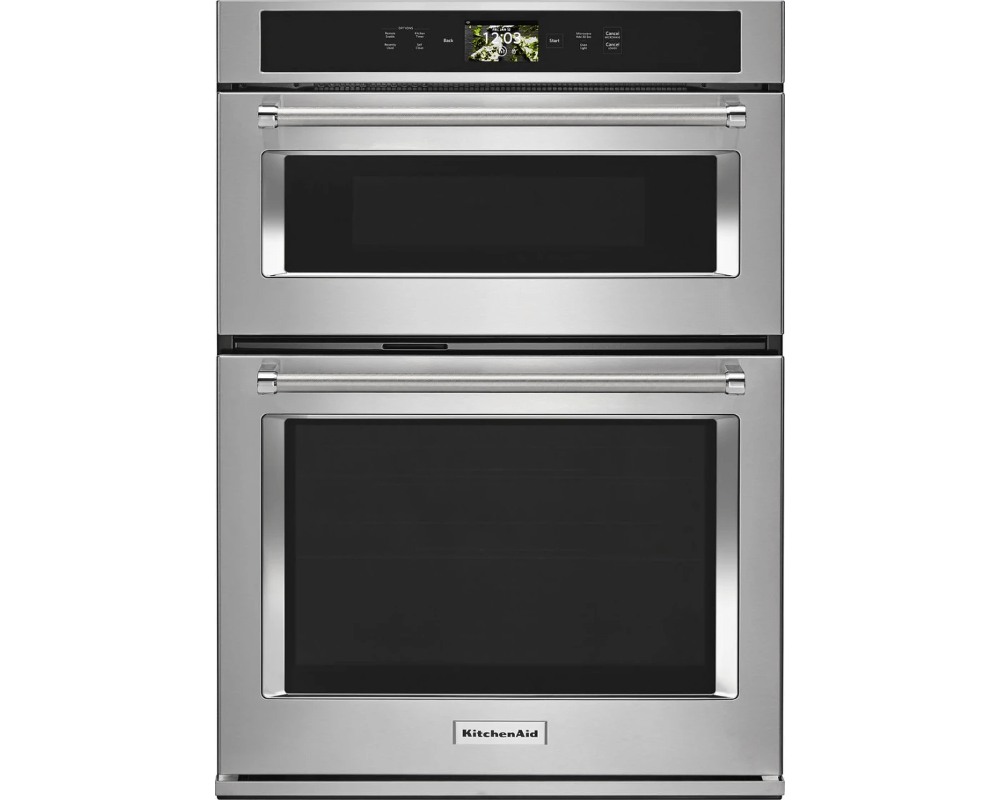 koce900hss by kitchenaid combination wall ovens goedekers com