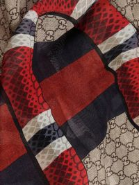 Gucci - Gucci Snake Print Scarf - Multicolor, Men's ...