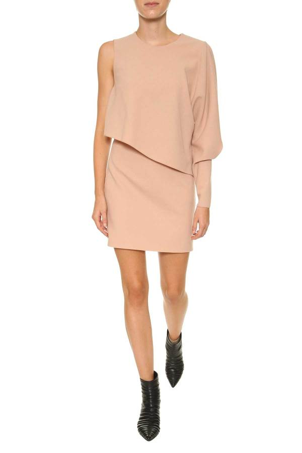 Tom Ford - Wool Short Dress Flesh Women'