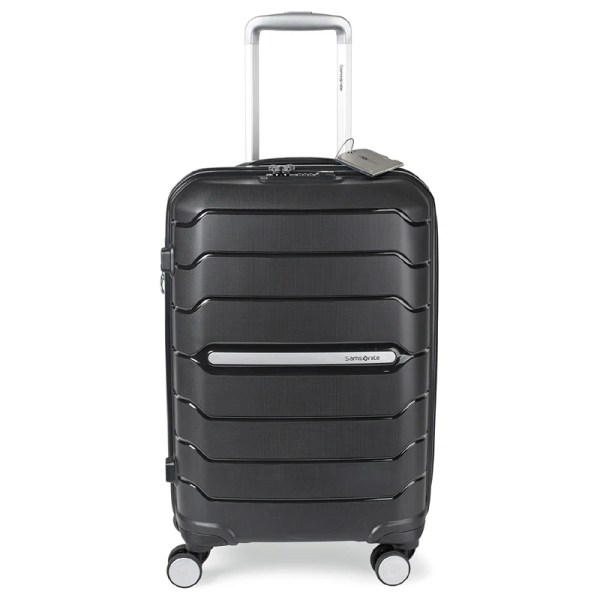 "Samsonite Freeform 21"" Spinner With Luggage Tag Silkletter"
