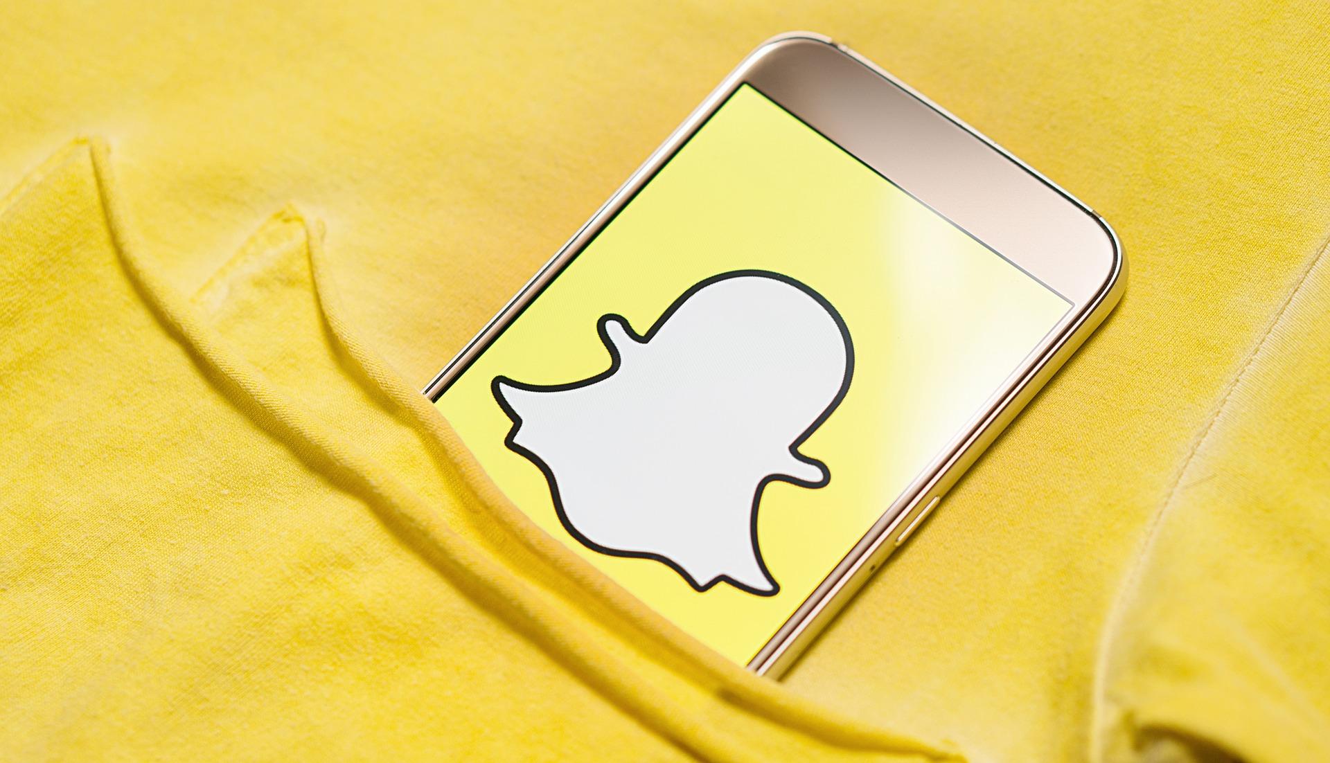 Social Media via Snapchat