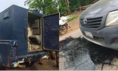 Update: 2 dead as robbers attack bullion van in Ahah, Lagos (Video)