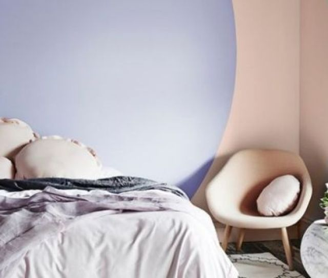 Colour Blocking Feature Wall Photo Dulux