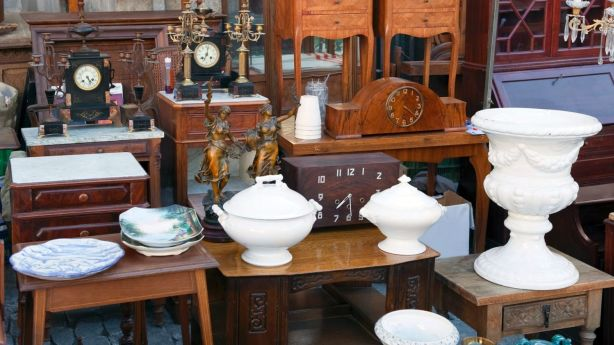 Valuable items can be given to family or sold by auction houses. Photo: iStock
