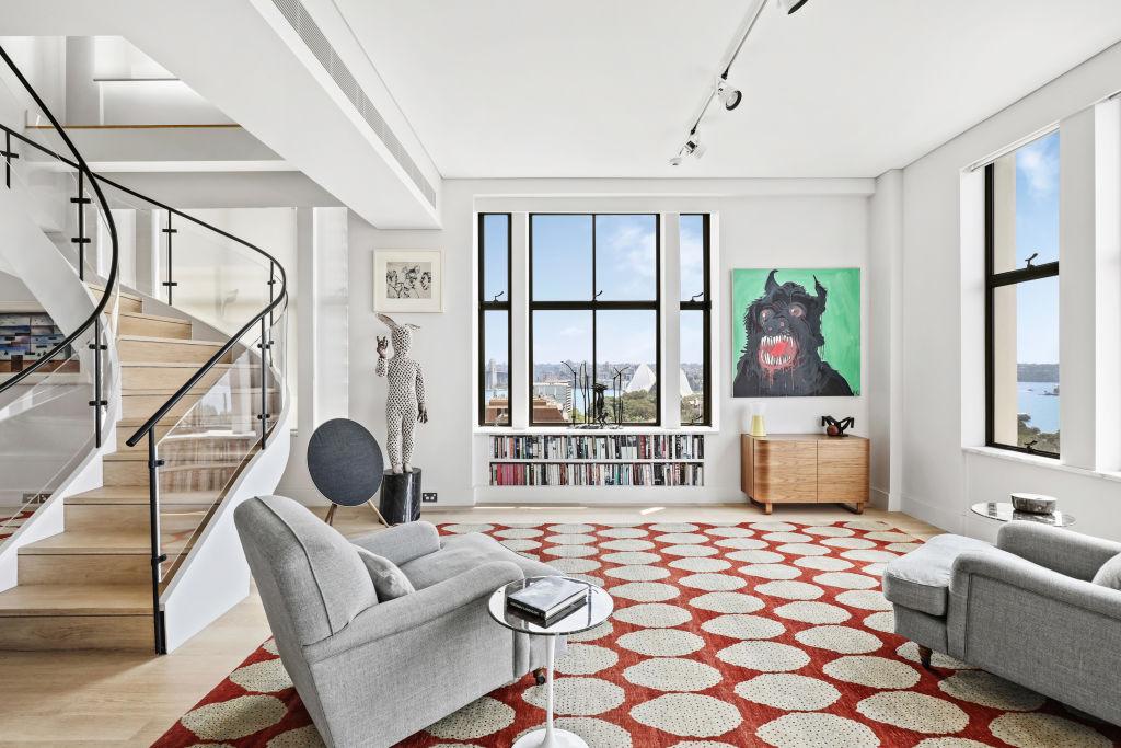 EMBARGOED: Lucy Macken story Cate Blanchett apt The Astor 123 Macquarie Street Sydne