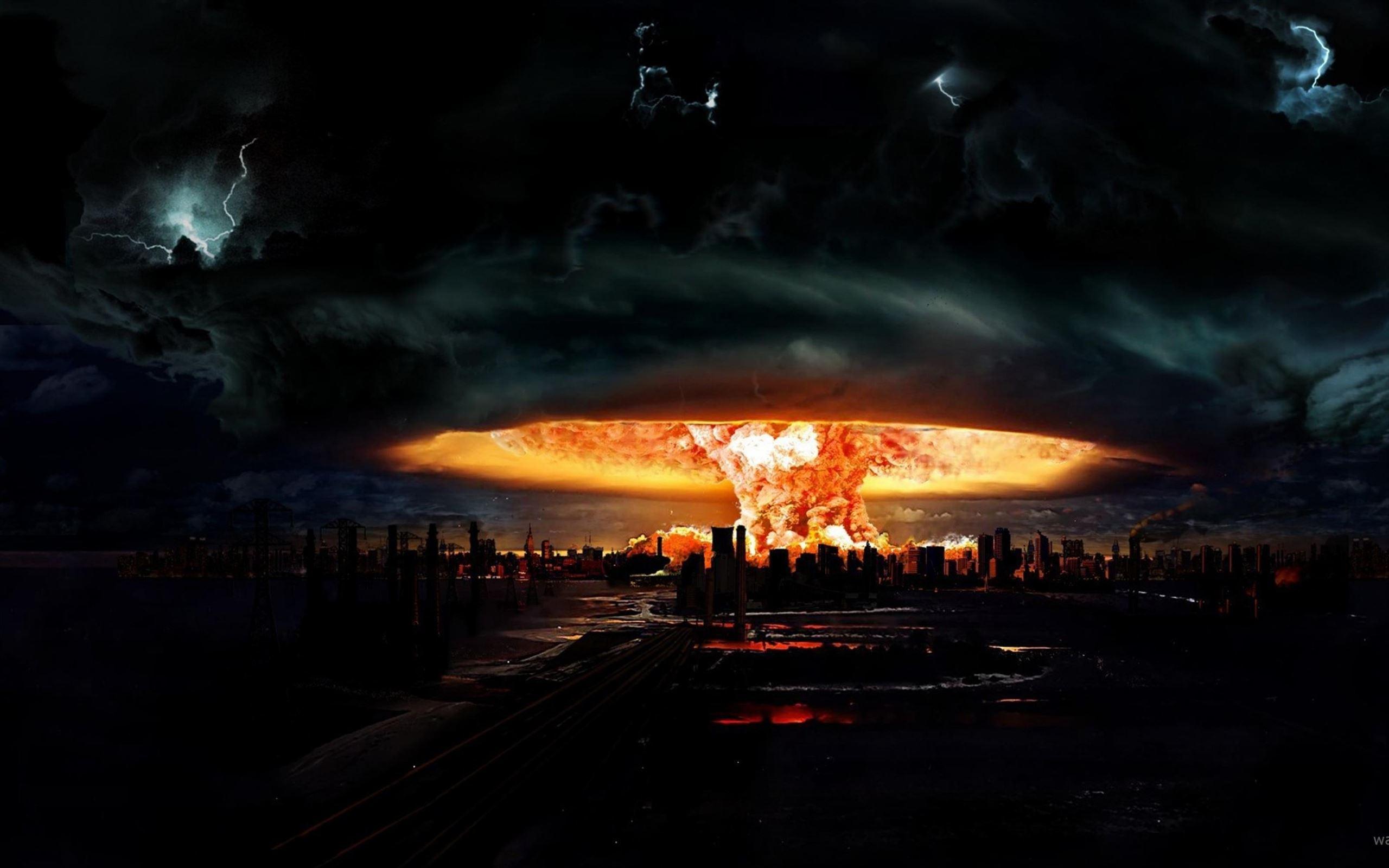 Orange Wallpaper Iphone Nuclear Explosion Of Darkness Mac Wallpaper Download
