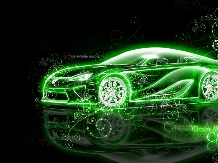 Race Car Wallpaper Free Download Lexus Abstract Fantasy Car Mac Wallpaper Download Free