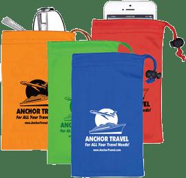 microfiber drawstring pouches