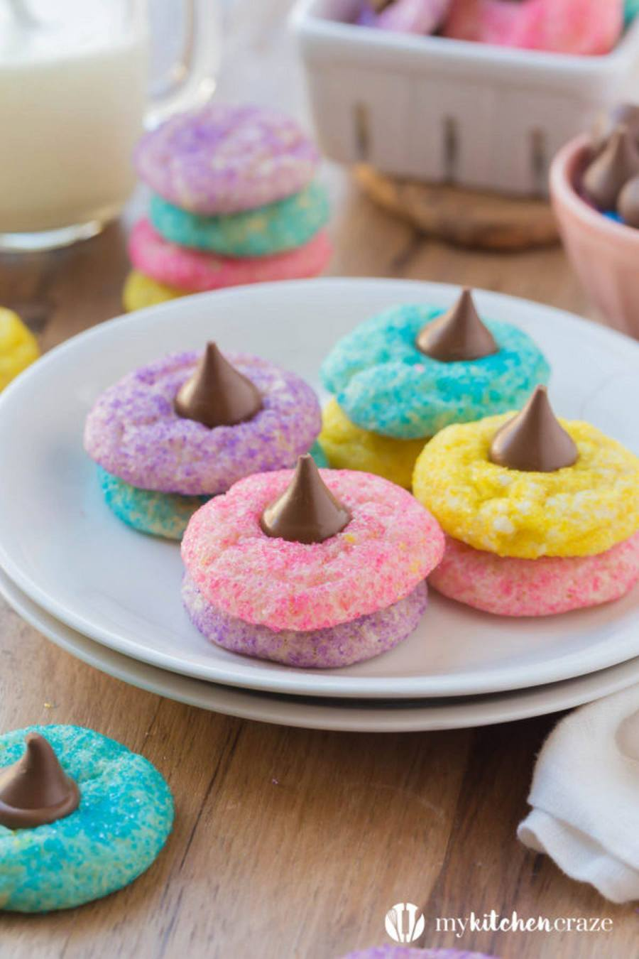 Don't waste your time decorating eggs when you could be decorating Easter cookies.
