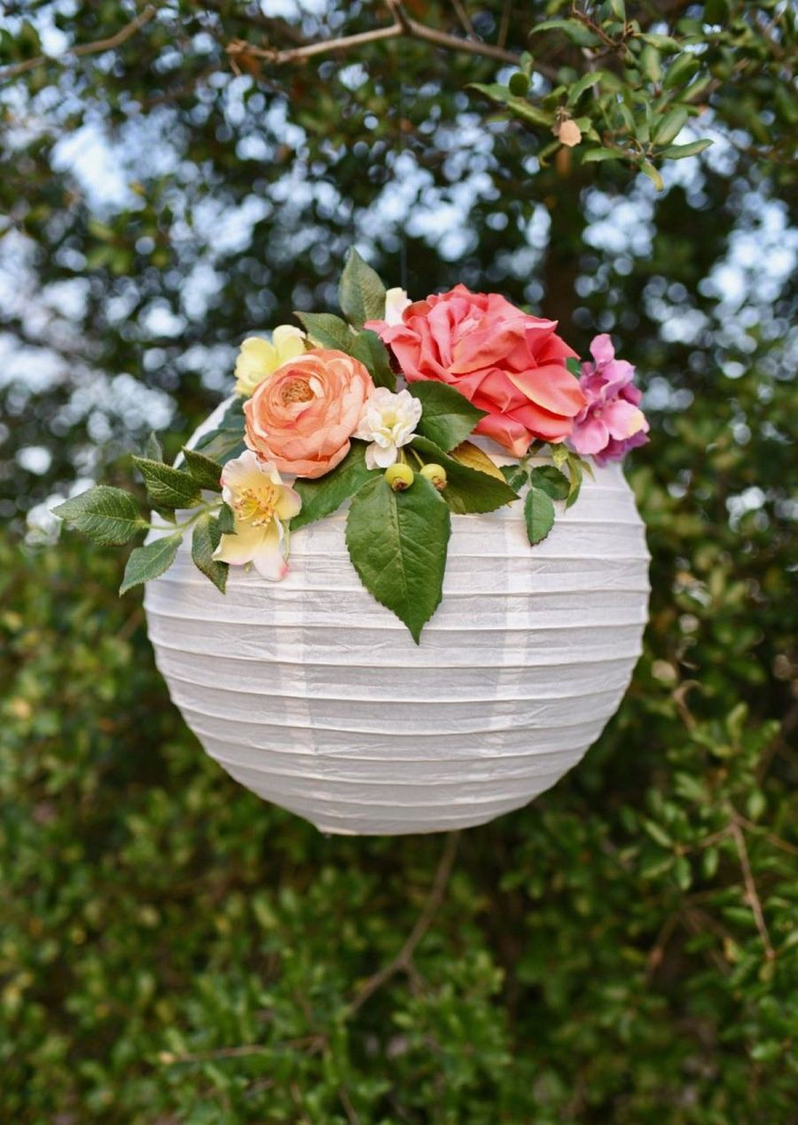 Nothing gives our garden a magical feeling quite like lanterns. They really set the ambient and are very romantic. They're perfect for dinner parties with friends and date nights with your chosen one.