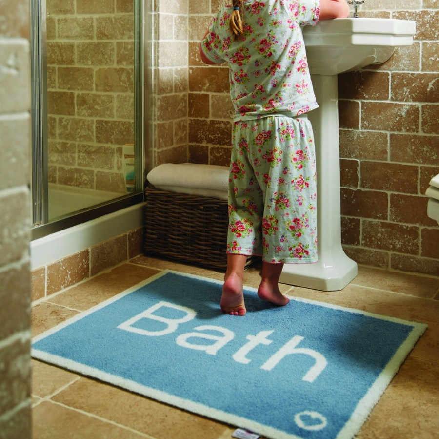 When it comes to the average bath mat, people often go for something soft and made of fabric. And it makes sense, since its overall purpose is to soak up the leftover wetness from your feet after stepping out of the tub or shower.