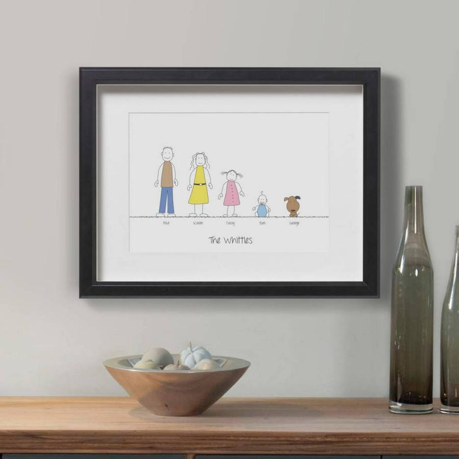 We all try to come up with unique and creative family portrait gifts! Some of them are winners, and others tend to miss the mark. If the family is everything to you, we've compiled a list of the some the most amazing unique and creative family portrait gifts.