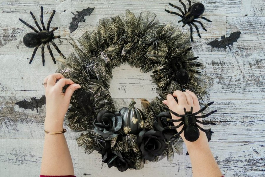 October is Halloween month, which means decorating the home with spooky decor is a priority on our agenda!