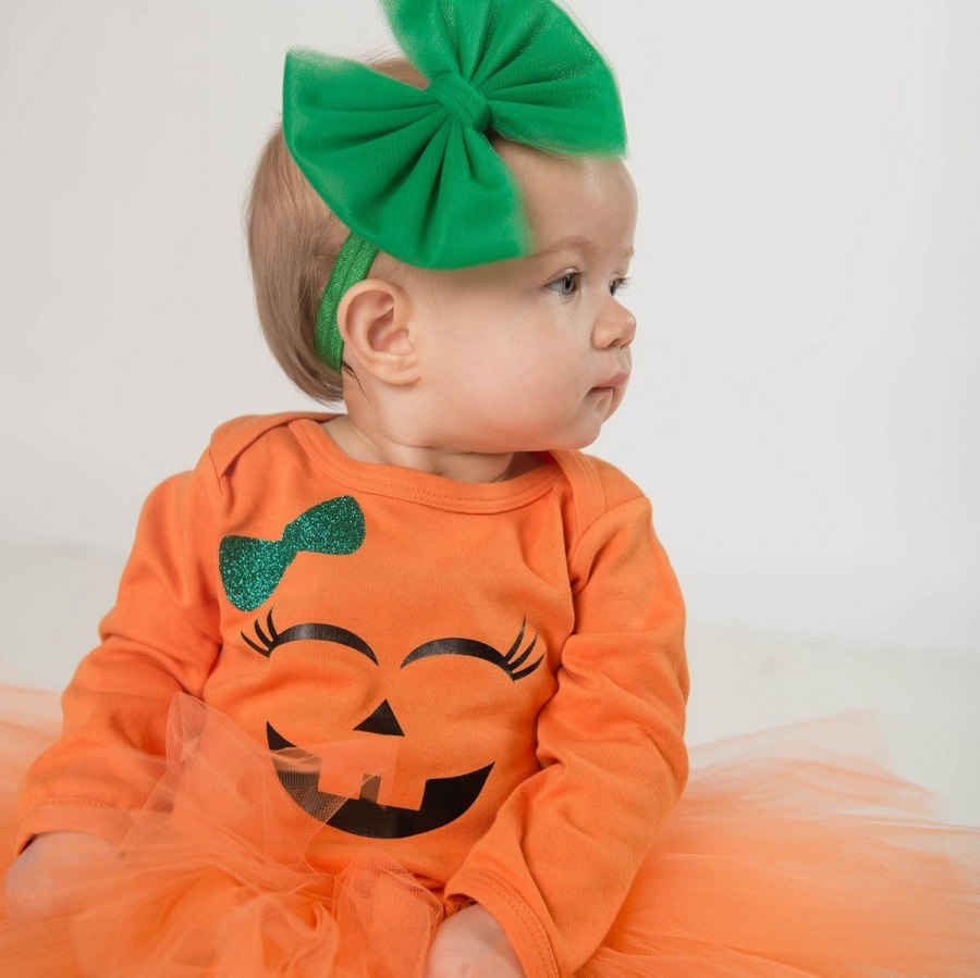 While your youngest may still be too young to trick-or-treat or watch scary movies, the best thing about those first couple of Halloweens is that you have total say over your baby's Halloween costume.