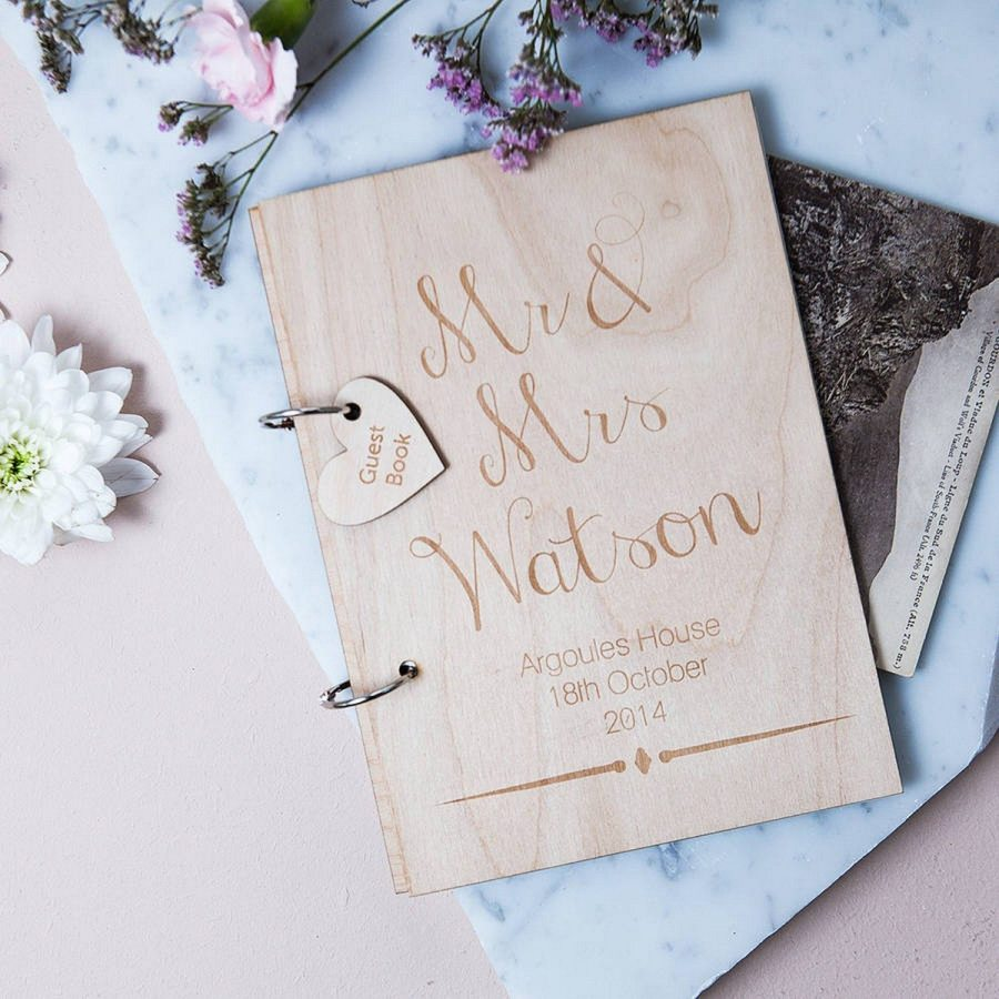 As much as I love classic and sophisticated wedding guest books, I just had a crush on these unique and interactive alternatives.