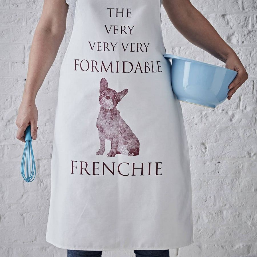 Frenchie lovers will never get tired of seeing their favorite breed, whether that's in the flesh, on the TV, or as a gift.