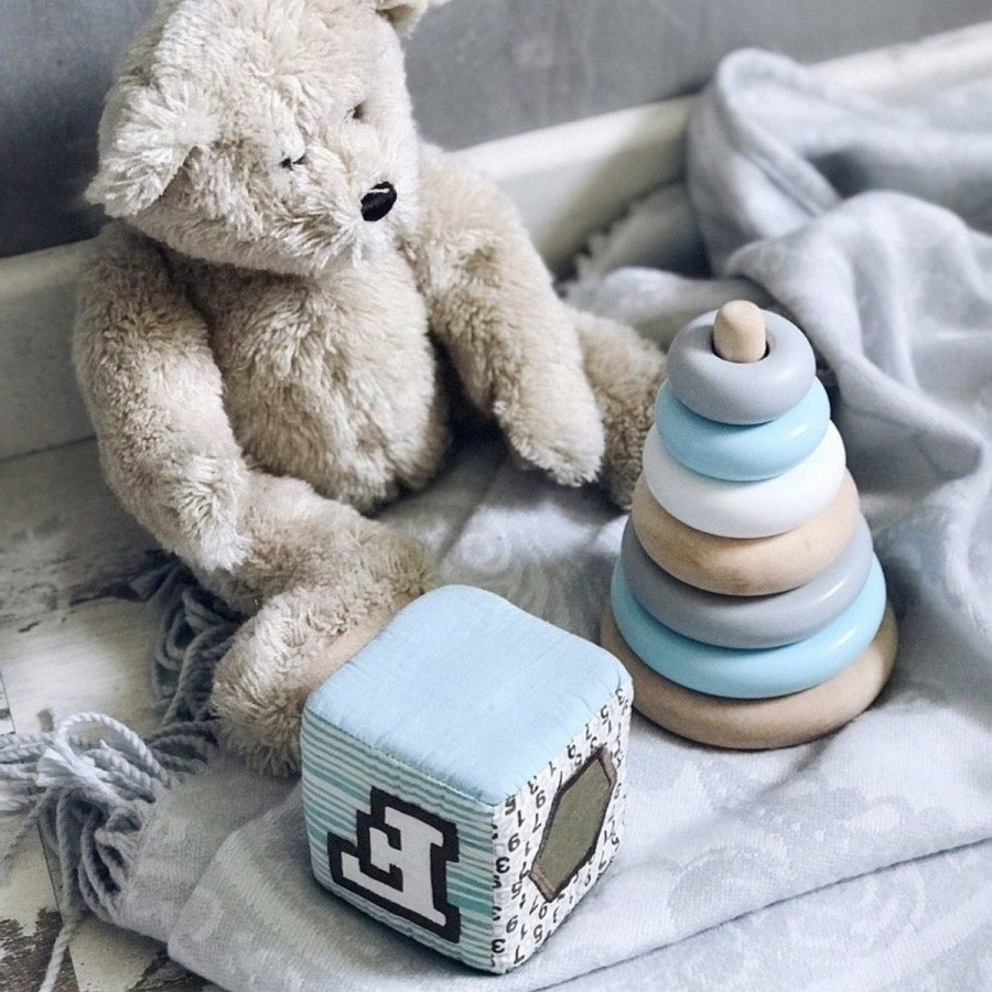 These are the toys you're going to step on, trip over and ultimately have take over your living room floor, but at the end of the day, they're staples in your infant's toy chest because they help promote early education.